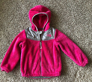 GUC The North Face Toddler Girl OSO Fleece Hoddie Pink *Size 3T*