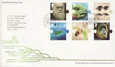 GB Stamps First Day Cover Charles Darwin, evolution, nature etc SHS Quote 2009