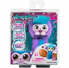 Wrapples Shora Slap Band Little Live Electronic Pets Purple and Blue Mermaid