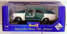 RARE REVELL Diecast 1/18 Mercedes-Benz 180 Polizei NEW IN THE BOX (code: 08863)
