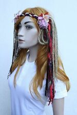 Flower Crown Pagan Psytrance Dread Hippy Festival Fairy Head Dress Band