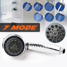7 Mode Shower Head Handset Bathroom Replacement High Water Pressure Aqualisa