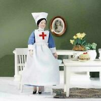 1:12 Mini Simulation Dollhouse Nurse Ceramic Man Model House Doll Gift V5Z7 O1V4