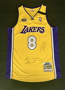 #8 Kobe Bryant ONeal Signed 100% Authentic Autographed Jersey Basketball NBA LOA