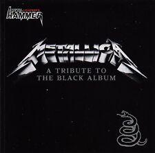 CD • TRIBUTE TO METALLICA • 2011 • THE BLACK ALBUM • (Metal Hammer Exclusive)