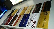 High Quality custom Affordable Muslim personalised Wedding Walima Shaadi Cards
