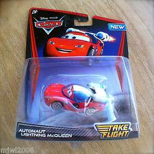 Disney PIXAR Cars TAKE FLIGHT AUTONAUT LIGHTNING MCQUEEN Cars TOONS Moon Mater