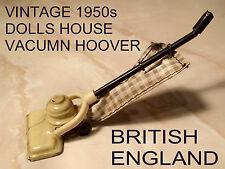 * VINTAGE 1950s * DOLLS HOUSE VACUMN CLEANER / HOOVER - BRITISH ENGLAND *
