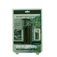 Soldier's Hiking Camping Pure Ceramic Water Filter Purifier- PLUS SPARE FITLER