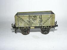 Spur 0 Bing 10/562 offener Güterwagen DRG grau