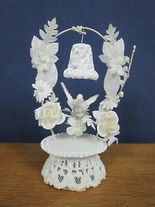 Vintage Chalk Ware Wedding Cake Topper
