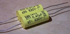 2 x Ero Roederstien Vishay MKT1813 series 0.47uf 630v Capacitors