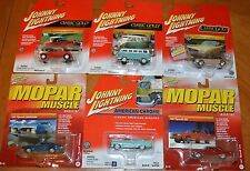 JOHNNY LIGHTNING DEAL BUY 5 GET 1 FREE: MOPAR, AMERICAN CHROME, CLASSIC GOLD