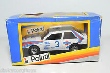POLISTIL LANCIA DELTA S4 MARTINI RALLY WHITE MINT BOXED