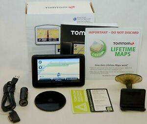 """NEW TomTom GO 2535M LIVE Set LIFETIME MAP CARD Updates 5"""" LCD US/Canada Car GPS"""
