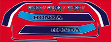 Dekorsatz Decals Honda CB 900 F Bol d'or für Lacksatz rot