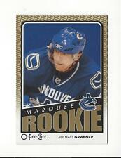 2009-10 O-Pee-Chee #792 Michael Grabner RC Rookie Canucks
