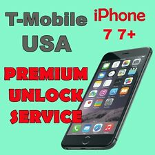 PREMIUM UNLOCK SERVICE T-MOBILE USA iPhone 7 7+ All IMEI
