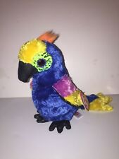 """TY WYNNIE COLORFUL BIRD 6"""" BEANIE BOOS-NEW, MINT TAG *IN HAND NOW*LOVES TO COLOR"""