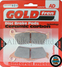 HUSQVARNA TE 310 (2009-2012) TE310 (FAST ROAD) FRONT BRAKE PADS SINTERED CERAMIC