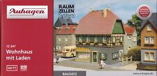 Auhagen 12347 - Spur TT und H0 geeignet - Wohnhaus mit Laden - Fachwerkhaus