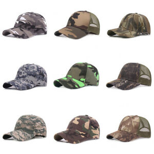 Men's Baseball Cap Camouflage Hat Outdoor Travel Hiking Cycling Sports Caps