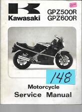 Kawasaki  GPZ500R , GPZ600R  1985 , 87,88,89 Serice Manual  #148