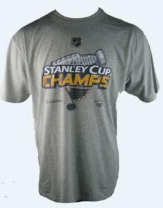 St. Louis Blues Mens Stanley Cup Champions NHL T-Shirt