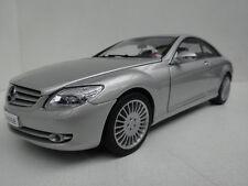 AutoArt Mercedes CL-klasse coupe silver 76164 scale 1:18