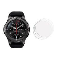 2 Nuevo frente claro Samsung Gear S3 Lámina Film Protector de pantalla de frontera
