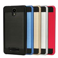 Hybrid Brushed Hard RUbber Silicone Case Cover For BLU Studio X8 HD/BLU Series