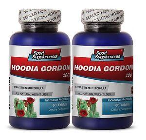 Appetite Control - Hoodia Gordonii 2000mg  - Best Weight Loss Herbs Pills 2B