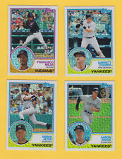 2018 Topps Silver Packs Francisco Mejia RC  Refractor Indians Rookie