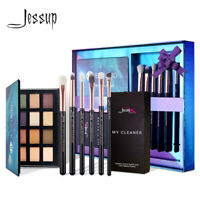 Jessup Eye Makeup Brush Kit & Eyeshadow Palette Concealer Blending Brush Tool