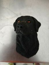 "BLACK LAB rubber fridge magnet - 2"" X 3.5"""