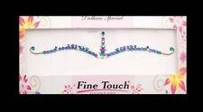 Bindi violet emeraude  bijou de peau  auto adhesif strass pour les yeux -2592