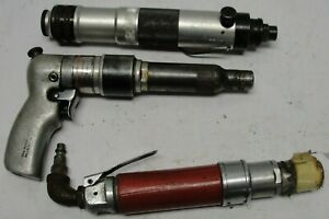 Pneumatic air tool lot of 3 -  Gardner - Desoutter - URYU non working for parts