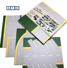 Straßenplatten-Set NEU - street plates set -z.B. für 1:87 Lego Siku Matchbox alt