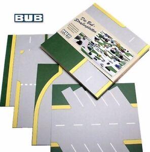Straßenplatten-Set NEU - street plates set - 1:87 Lego Siku Matchbox Wiking alt
