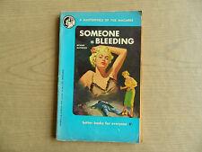 Someone is Bleeding by Richard Matheson Rare Australian Lion Digest 1950s Signed