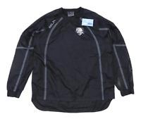 BLK Mens Size M Graphic Black Pullover Jacket