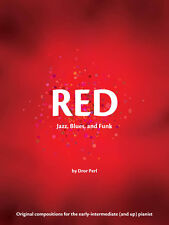 Red, Jazz Repertory Book For intermediate level SheerPiano From The Color Series
