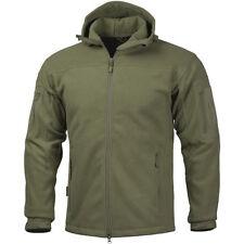 Cappotti e giacche da uomo verde militare con cerniera