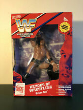 🔥WWE WCW ECW WWF JAKKS PACIFIC SYCHO SID HEROES OF WRESTLING MOC 🔥