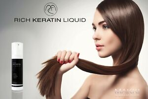 RICH KERATIN LIQUID HAIR SERUM CONDITIONER REVITALIZE RESTORE REPLENISH PROTECT