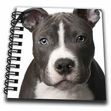"3dRose db_4240_3 American Pit Bull Terrier Puppy Mini Notepad, 4 by 4"", New, Fre"