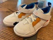 BRAND NEW Jordan Why Not Zero.2 OKC home (TD) White Boys Girls 10C Sneakers