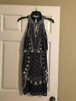 Gianni Bini womens blue dress size 0