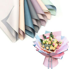 20Pcs Duplex Paper Flower Wrapping Package Wedding Waterproof Florist Supply Hot