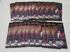 Weiss Schwarz Sealed English Booster Packs Lot of 20 Accel World Infinite Burst